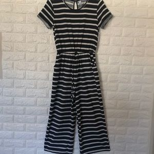 NWT Old Navy striped jumpsuit Sz S